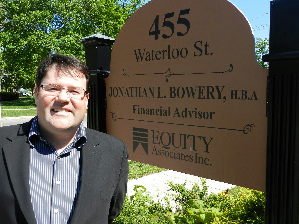 Jonathan L Bowery HBA Financial Advisor